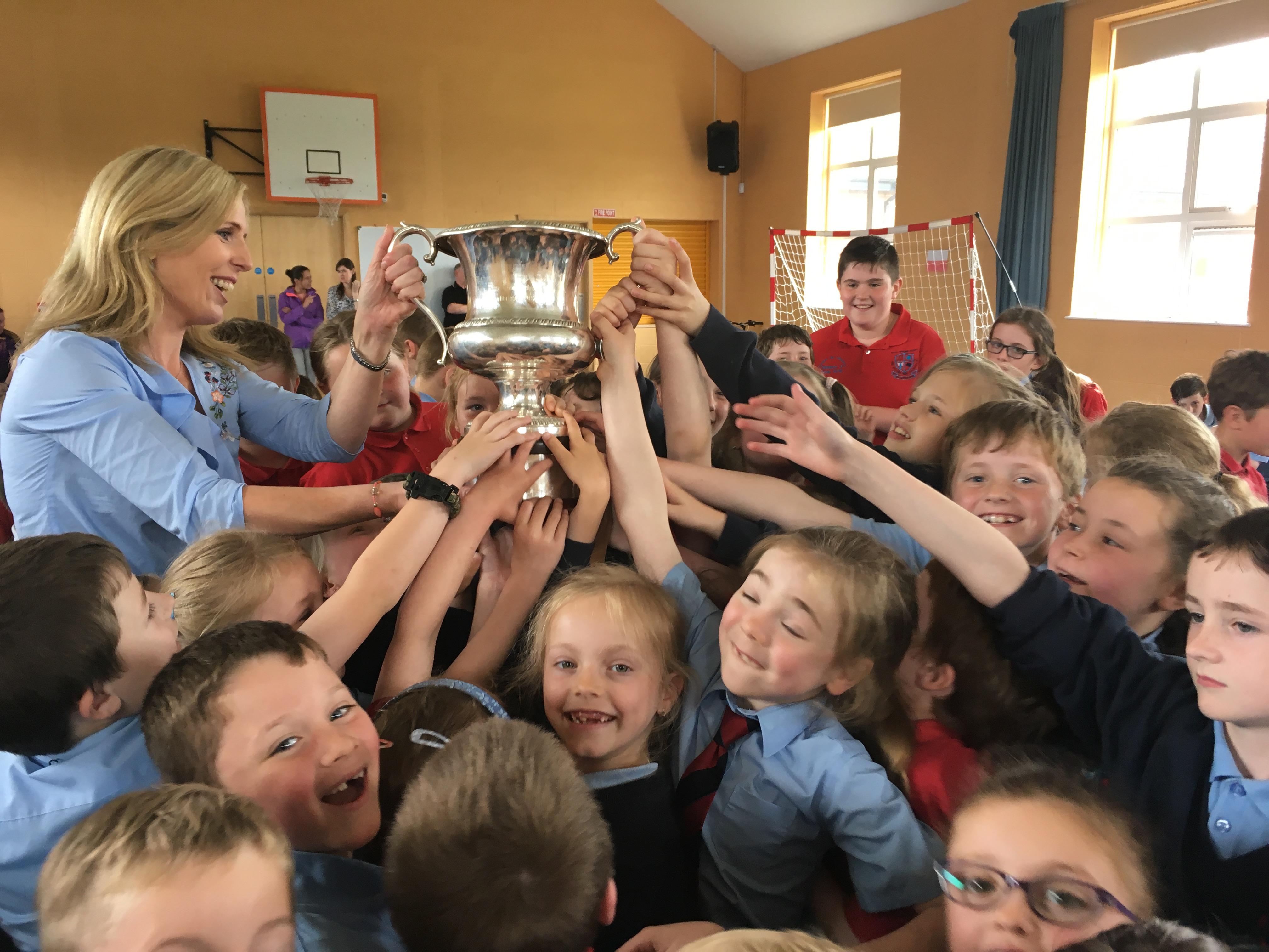 All-Ireland cup-Cómortas Peile na Gaeltachta