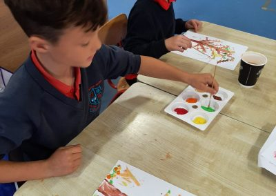 National Tree Day - 2nd Class Painting